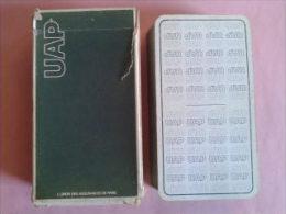 Jeu De Tarot Publicitaire. UAP L'union Des Assurances De Paris. Jeu Usagé Dans Un étui - Tarot-Karten