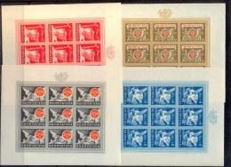 CROATIA - HRVATSKA - NDH - POSTAL & RAILWAY EMPLOYEES FUND - POSTHORN -  MS  IMPERF - **MNH -1944 - DE LUXE - Kroatien