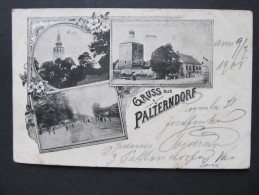 AK PALTERNDORF B. Gänserndorf 1901 // D*15306 - Gänserndorf