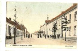 Lebbeke Topkaart In Kleur - Lebbeke