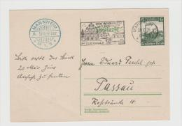 III-313/ Posreigenwerbung Für Postbusfahrten Im Odenwald, Ex Mannhei NACH PASSAU - Germania