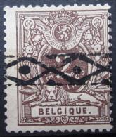 BELGIQUE              N° 44                  OBLITERE - 1884-1891 Leopold II