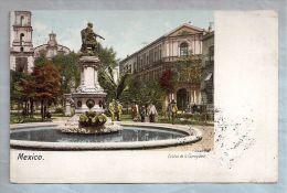 CPA - Mexico - Estatua De La Corregidora - Mexique