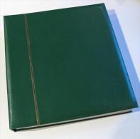 1 Gebrauchter Grüner SCHAUBEK SCHRAUBBINDER Mit 22 Einsteckblättern Siehe Fotos - Albums & Reliures