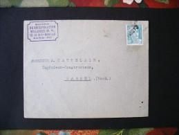 Enveloppe Société De Récupération Métallurgique D.R. / Paris (XII) - 1945-54 Marianne Of Gandon