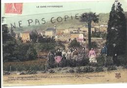 Gard : Générargues, Le Village Et Le Jardin De La Filature,  Retirage Sur Papier Photo, Bien Lire Le Descriptif - Reproductions