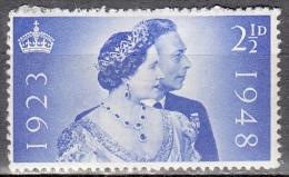 Gran Bretagna, 1948 - 2 1/2p King George & Queen Elizabeth - Nr.267 MLH* - 1902-1951 (Re)