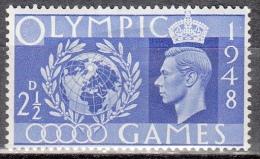 Gran Bretagna, 1948 - 2 1/2p King George VI - Nr.271 MLH* - 1902-1951 (Re)