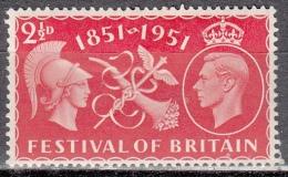 Gran Bretagna, 1949 - 2 1/2p Symbols Of Commerce And Prosperity - Nr.290 MLH* - 1902-1951 (Re)