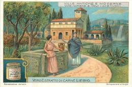 CHROMO LIEBIG - Ville Antiche E Moderne - Ville Romane A Tibur ( Ora Tivoli ) - Série Italienne N° 1064 - Année 1912 - Liebig