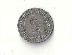 5 Deutsche Mark 1982 F - [ 6] 1949-1990 : RDA - Rép. Démo. Allemande