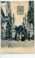 Belgique : Blankenberghe : Le Grand Escalier (n°1032) - Blankenberge