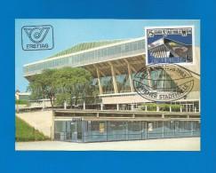 Österreich  1983 , 25 Jahre Wiener Stadthalle - Maximum Card - 24.06.1983 - Cartoline Maximum