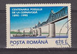 1995 -  Centenaire Du Port De Cernavoda Mi No 5110 Et Yv No 4268 - 1948-.... Republiken