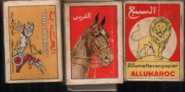 3 Boites D'allumettes-MAROC - Cajas De Cerillas (fósforos)