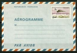 FRANCE - ENTIER - AEROGRAMME  - N° 1005-AER-   1,50 CONCORDE - Biglietto Postale