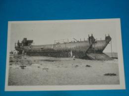 14) Saint-aubin-sur-mer - Péniche échouée Ayant Servi Au Débarquement Du 6 Juin 1944  - Année  - EDIT - - Saint Aubin