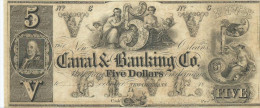 5 $     CANAL BANK. Co   18 - -   UNISSUED REMAINDER   XF+ / SPL+