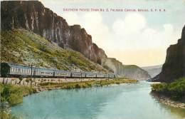 USA - southern pacific train No 2 palisade canyon nevada