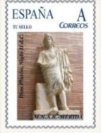 "Spain 2012– España ""Tu Sello"". Sello Personalizado De La Escultura Romana Del ""Dios Plutón"" De Mérida - Scultura"