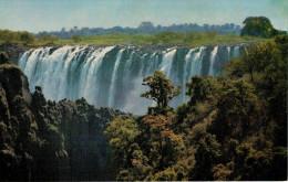 ZAMBIA    CASCATE  VICTORIA   -VICTORIA FALLS     (NUOVA) - Zambia