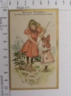 Chromo CHOCOLAT CARPENTIER - Epicerie Robert, Rue Du Commerce, Rue Nationale, TOURS (37) Enfants Jardinage - Chocolate