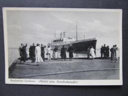 AK CUXHAVEN M.Schiff Ca.1940 // D*15347 - Cuxhaven