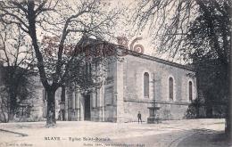(33) Blaye - Eglise Saint St Romain - 2 SCANS - Blaye