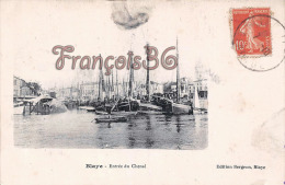 (33) Blaye - Entrée Du Chenal - Bateaux Boats Voiliers - 2 SCANS - Blaye