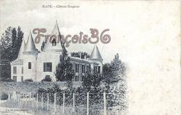 (33) Blaye - Château Saugeron - 2 SCANS - Blaye