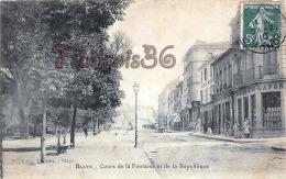 (33) Blaye - Cours De La Fontaine Et De La République - 2 SCANS - Blaye