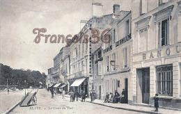 (33) Blaye - Le Cours Du Port - Hotel Du Médoc - 2 SCANS - Blaye