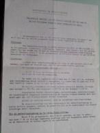 "Recruterings- En Selectiecentrum "" BERICHT '"" ( A4 Dokument ) ( Zie Foto´s ) ! - Documents"