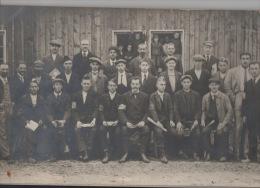 Photo 34 Cm Sur 20 Cm. Camp De Prisonniers Holzminden Guerre 14 18 Kriegsgefangenenlager Cours Français Pour Alsaciens - Photographs