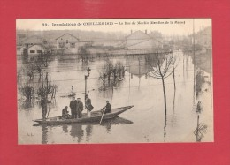 * CPA..dépt 77..CHELLES  :  La  Rue Du Moulin En 1910..n°22   :  Voir  2  Scans - Chelles