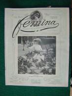 Revue FEMINA N°73 Du 1 Février 1904 MODE TOFANI, TARRIDE, COOLUS, MARCHETTI, OHNET, TELEPHONE,    (liste) - 1900 - 1949