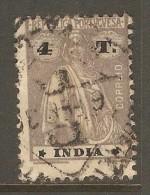 PORTUGESE INDIA    Scott  # 370 F-VF USED - Portuguese India