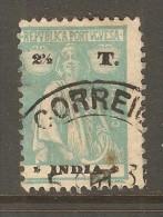 PORTUGESE INDIA    Scott  # 403 F-VF USED - Portuguese India