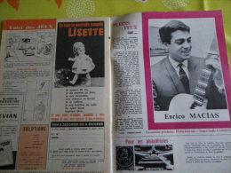 ENRICO MACIAS... BD LISETTE ANNEES SIXTIES......REGARDEZ MES VENTES ? J'EN AI D'AUTRES - Magazines: Subscriptions