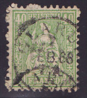 Zwitserland Swiss Helvetia  1862  Mi.nr. 26  Used - Oblitérés