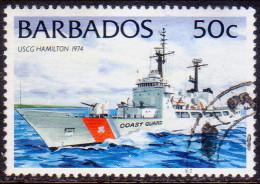 BARBADOS 1994 SG #1035A 50c VF Used Ships No Imprint - Barbados (1966-...)