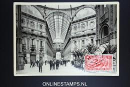 Italy: Postcard 1936 Milano Galleria Vittorio Emanuele II - 1900-44 Vittorio Emanuele III