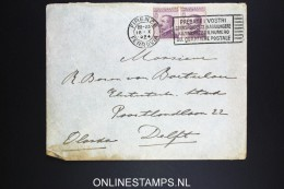 Italy: Cover 1924 Firenze To Delft Holland - 1900-44 Vittorio Emanuele III