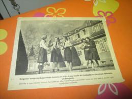 Propaganda Card German Youth Stuttgart Guerre WWII - Documents