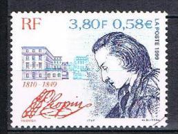 150è Anniversaire De La Mort Du Compositeur Frédéric Chopin N°3287 - France