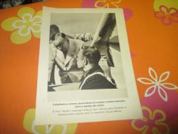Propaganda Card German Professor Heinkel WWII - Documents
