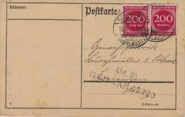 Germany; Infla Postcard - Aug. 16, 1923 - Alemania