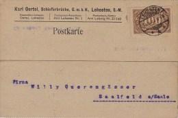 Germany; Infla Postcard - Aug. 8, 1923 - Alemania