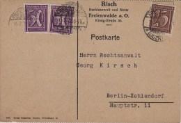 Germany; Infla Postcard - Feb. 2, 1923 - Alemania