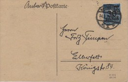 Germany; Infla Postcard - Sept. 14, 1923 - Alemania